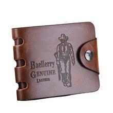 Mode Verkauf designer herren brieftaschen 6 Muster Klassischen haspe lässig braun kreditkarteninhaber geldbörse brieftasche für männer #04