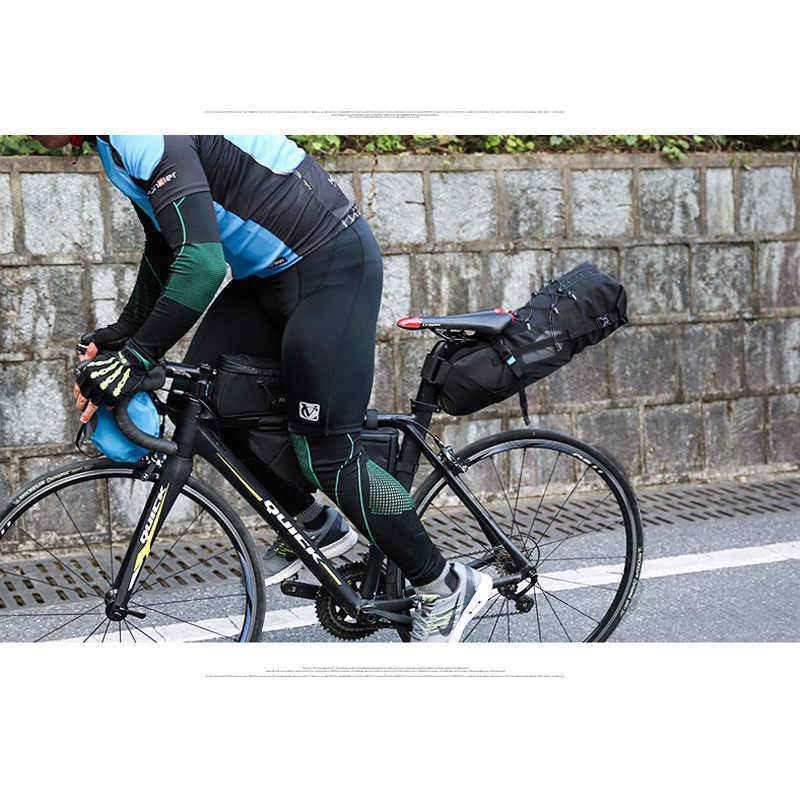 ROSWHEEL 10L 100% Su Geçirmez Bisiklet Çantası Bisiklet Aksesuarları Eyer Çantası Bisiklet Dağ Bisikleti Arka Koltuk Arka Çanta