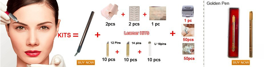 21 pin Arc needle blade U Embroidery Disposable tattoo needles for manual Pen 21 pin U curve blade free shipping 1
