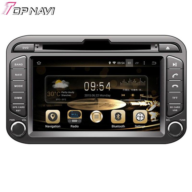 TOPNAVI 7 Brand Quad Core Android 6.0 Car GPS Navigation for KIA PICANTO MORNING 2011- Autoradio DVD Multimedia Audio Stereo