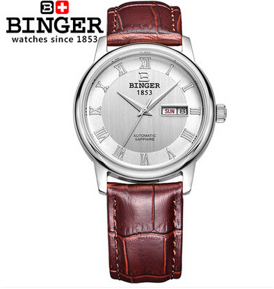 Здесь можно купить   Switzerland 2017 New Fashion Men Dress Watch ventage Leather White Watches refined Bracelet casual Binger wristwatch Часы