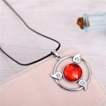Naruto Round Shape Red Sharingan Pendant