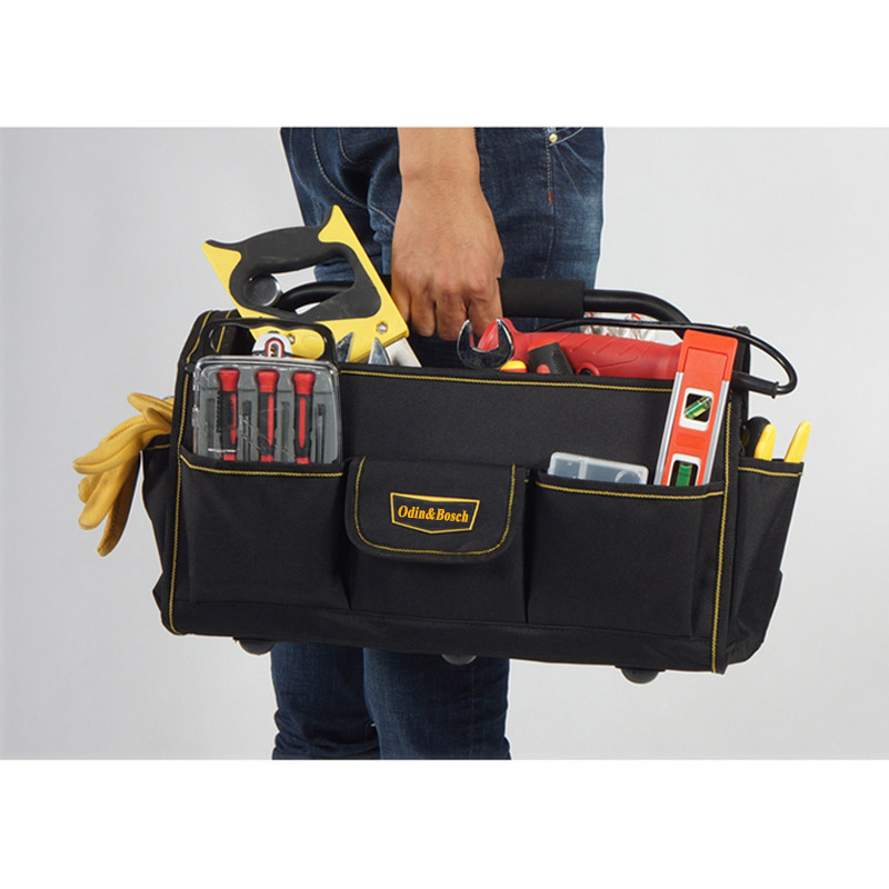 b3eae8b48519d4 Odin&Bosch Mutifuction customed brand electrician tool toty tray bag strong  handle carrier tool bag for eletrician-in Tool Bags from Tools on  Aliexpress.com ...