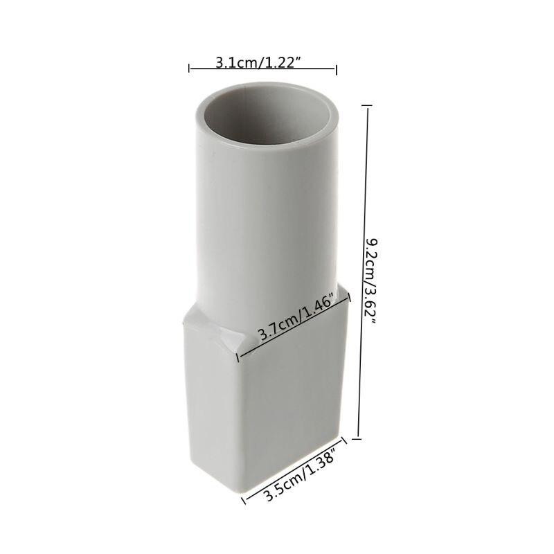 Пылесос шланговый преобразователь адаптер для медиа пылесборника SC861/861A совместимый круглый квадратный
