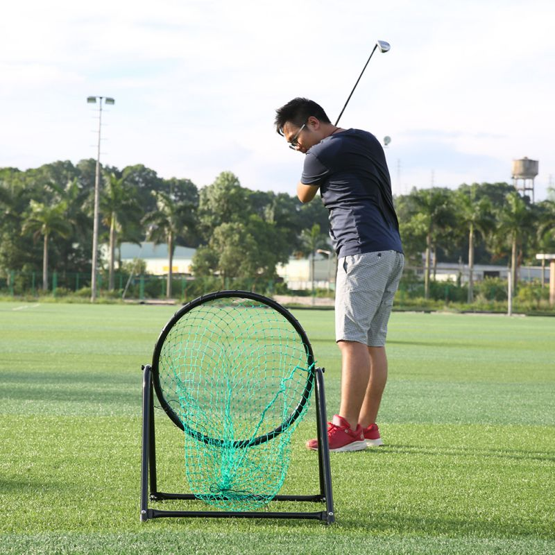 Hot Sale New Adjustable Portable Golf Chipping Pitching Practice Net Training Aid Tool Swing/Sphere/Target 1 pair boxing training sticks target mma precision training sticks punching reaction target muay thai grappling jujitsu tools