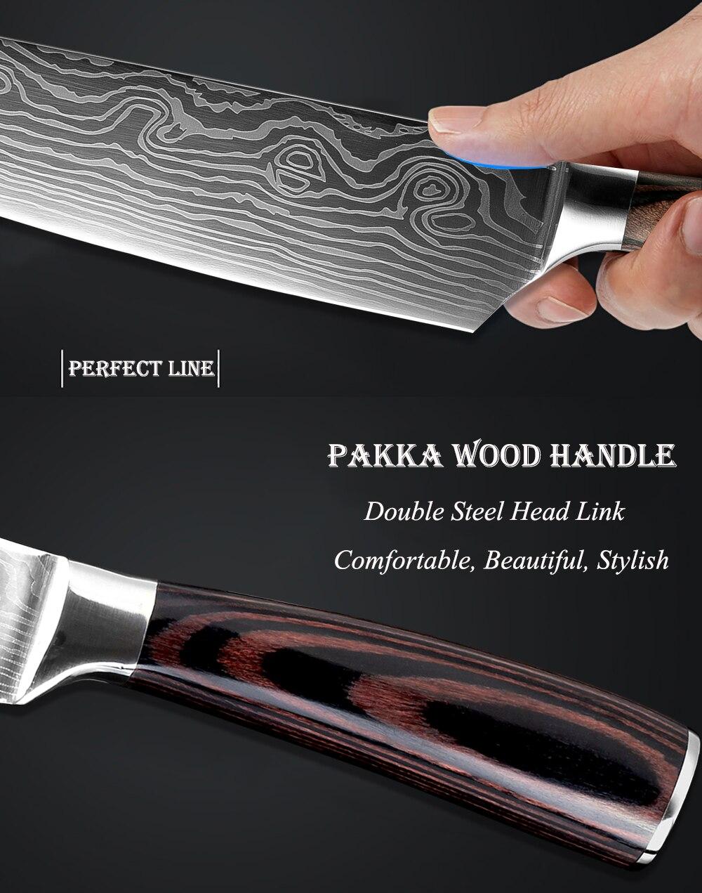 Knife set 3