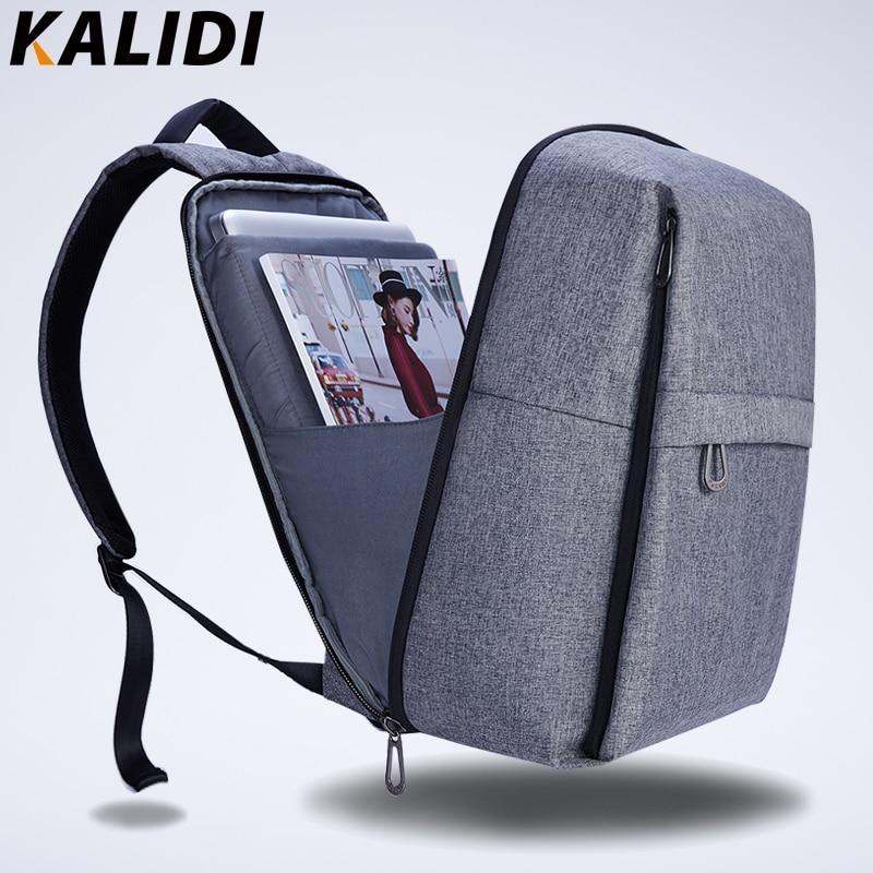 KALIDI 17 inch Laptop Backpack USB Charger School Bag for Student Unisex Travel Backpack 17.3 inch Casual Backpack Men Women kalidi 2pcs set backpack