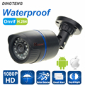 CCTV Camera HD 1080P 2MP IP Camera Over Ethernet Out/Indoor HD Lens ONVIF ABS Waterproof Night Vision P2P Plug&Play 3.6mm Lens