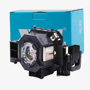 Image 5 - Yüksek Kaliteli V13H010L41 YENI Projektör Lambası EPSON EMP S5 EMP S52 EMP T5 EMP X5 EMP X52 EMP S6 EMP X6 EMP 822 EX90 ELPL41