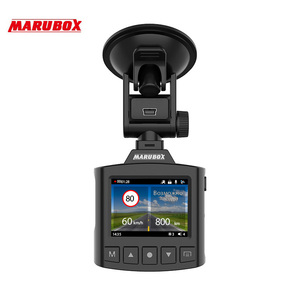 Image 5 - Marubox M340GPS DVR Dash Camera Radar Detector 360 Degree Rotatable Original Full HD Car DVR Camera G sensor with Russian Voice