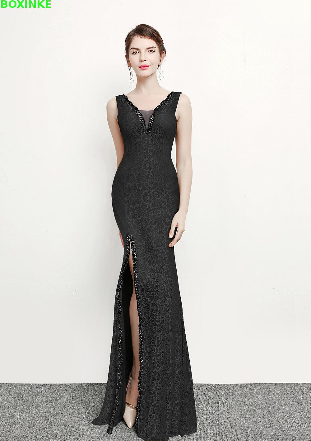 Limited Solid Vestidos Mujer Plus Size Zanzea New Summer Style Dressing Long Dress Wine Club Sexy Lace Fishtail Dress in Dresses from Women 39 s Clothing