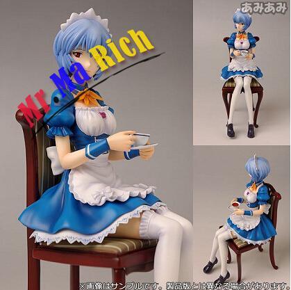 19 cm Eva néon Genesis évangélisation Ayanami Rei figurines Pvc Brinquedos Collection figurines jouets pour cadeau de noël