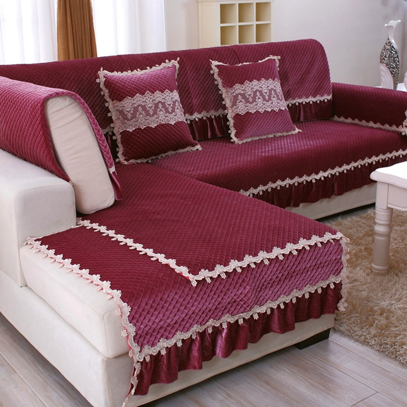 Sofa towel furniture covers couch mordern sofa sets for Canape sofa cover