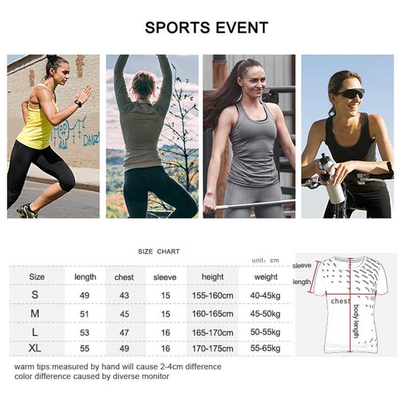 BARBOK נשים יוגה חולצה כושר כושר ספורט חולצה מהיר יבש ריצת רכיבה על אופניים ספורט חולצות בטן חשופה סקסי ספורט יבול למעלה חולצת טי