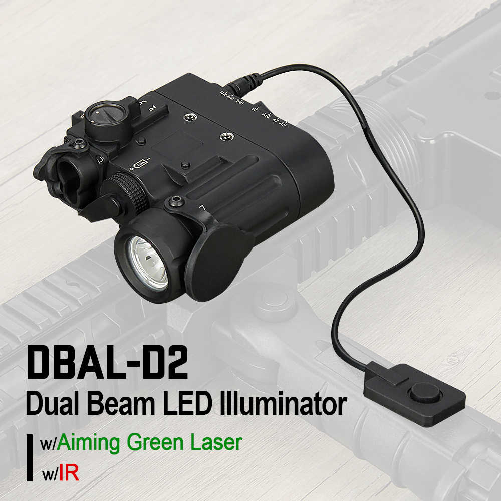Trijicon New Arrival Dbal D2 Dual Beam Aiming Laser Green W Ir Led