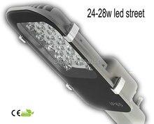2015 прямые продажи 24 Вт из светодиодов уличный фонарь Bridgelux горячая распродажа черный цвет входное напряжение Ac85-265v Ip54 Ce Rohs
