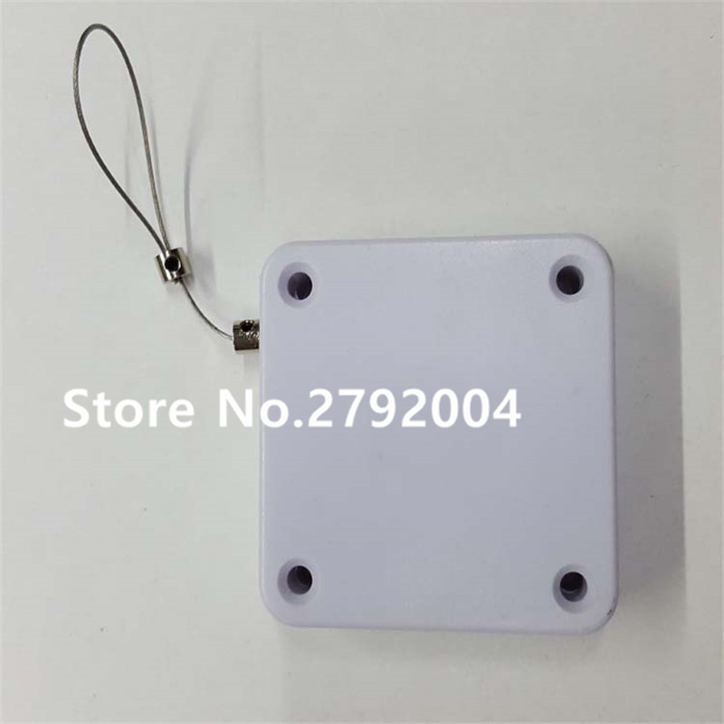 20pcs/lot Plastic Retractable Anti-Theft Pull Box, Secruity Retractor, Safety Anti-Theft Device
