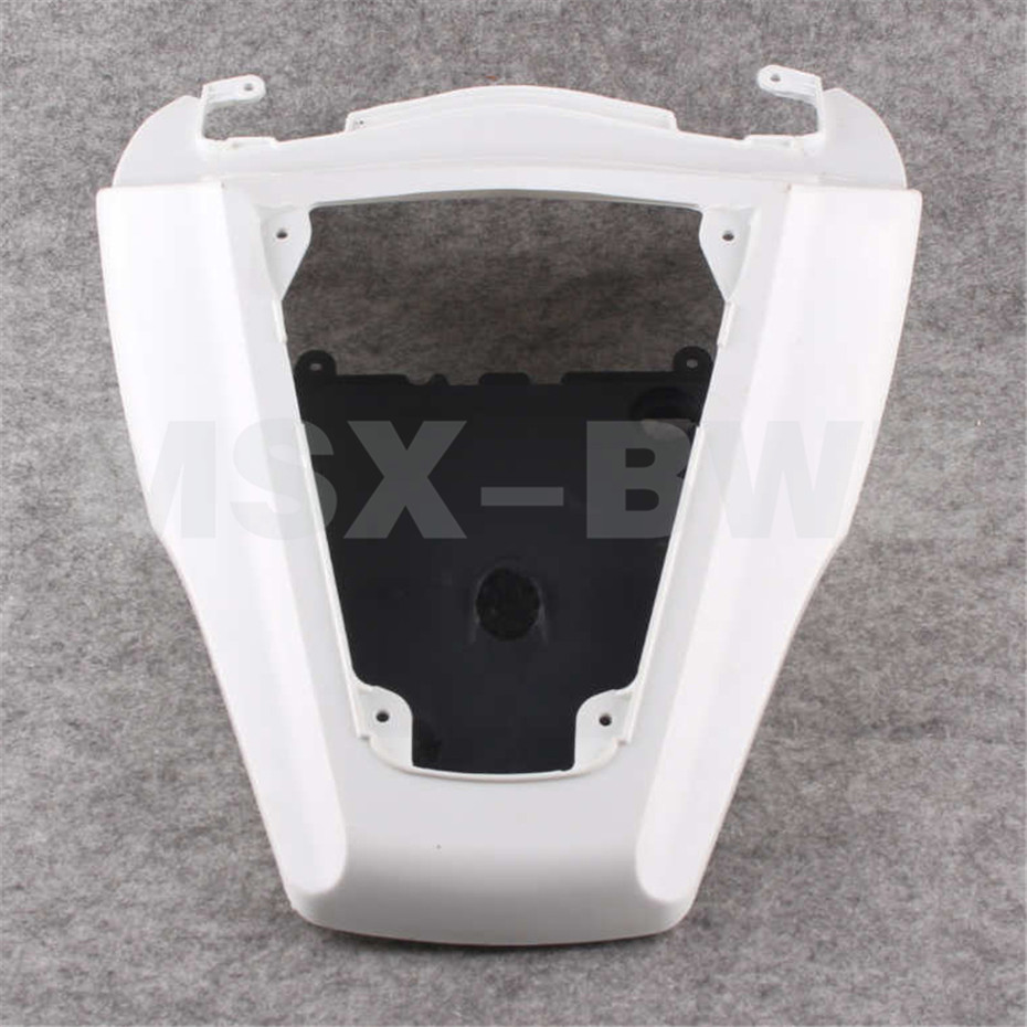 ABS Plastic Fits ZX 10R Unpainted Tail Rear Fairing For 06-07 Kawasaki Ninja ZX10R 2006 2007 Motorcycle Injection Moulding motorcycle fairing kit for kawasaki ninja zx10r 2006 2007 zx10r 06 07 zx 10r 06 07 west white black fairings set 7 gifts kd01