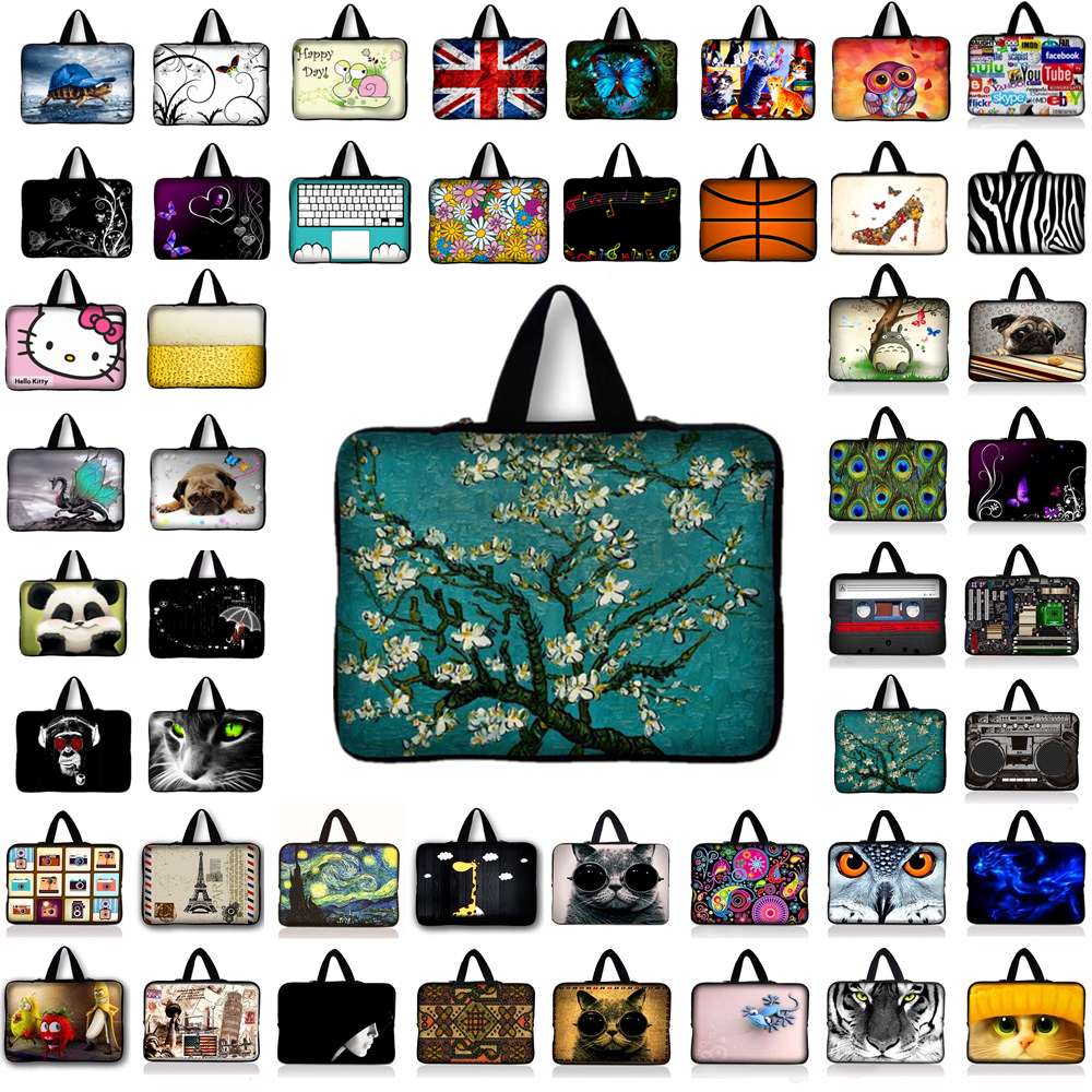Customized notebook laptop tablet bag for 7.9 inch 9.7 11.6 13 13.3 14 14.4 15 15.6 17 17.3 laptop sleeve case B1