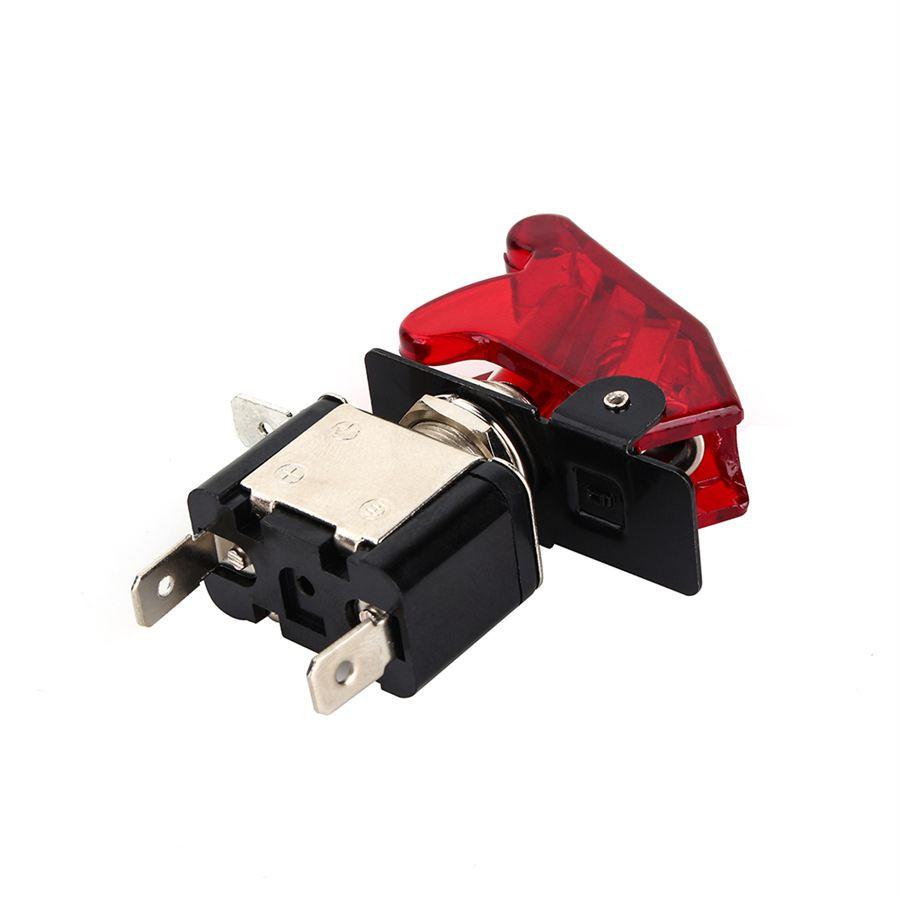 1pcs 12v 20a Toggle Switch Car Auto Cover Led Light Spst 1 Style Choose On Off Rocker X Qcot4101 2 3 4