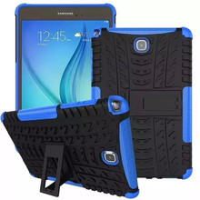 Hybrid Combo Armor Rugged Heavy Duty Cover Case For Samsung Galaxy Tab A 8.0 T350 Tablet Case Shell With Kickstand TPU+PC 2in1