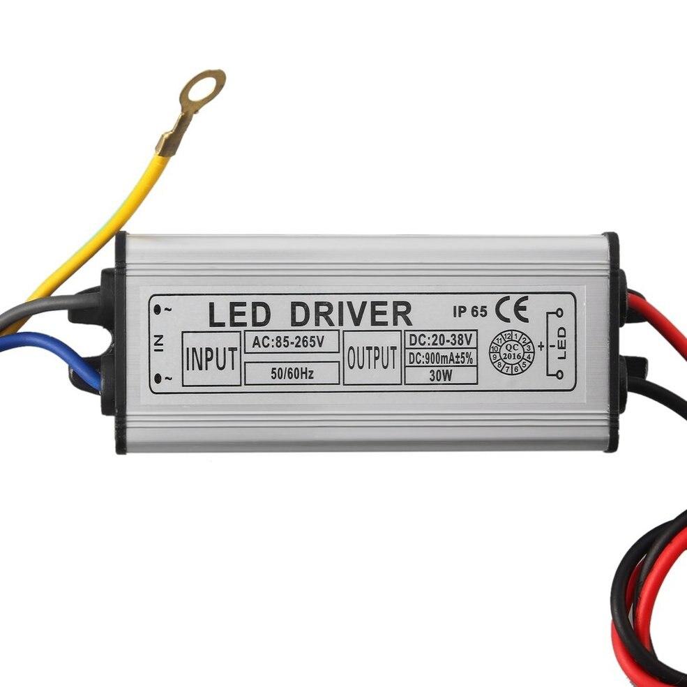цена на 10 PCS 30W LED SMD Chip Bulbs With 30W High Power Waterproof LED Driver Supply