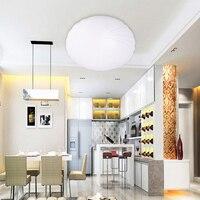 Lâmpada moderna conduziu a luz de teto para sala de estar decoração de casa levou rodada luz de teto 5 W 19 cm 12 W 28 cm
