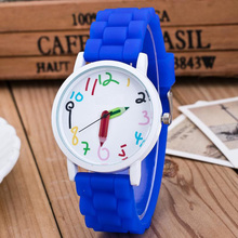 Hot Silicone Watches Children Pencil Pointer Student