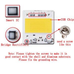 Image 3 - 5 ピース/ロットled cobチップAC110V/220v入力スマートic 50 ワット 100 ワット 150 ワット 200 ワットdiy投光器高抗サージ電圧
