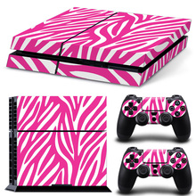 Fashion PS4 Skin Sticker Decal Vinyl For Sony PS 4 Playstation 4 Console And 2 Controllers Stickers