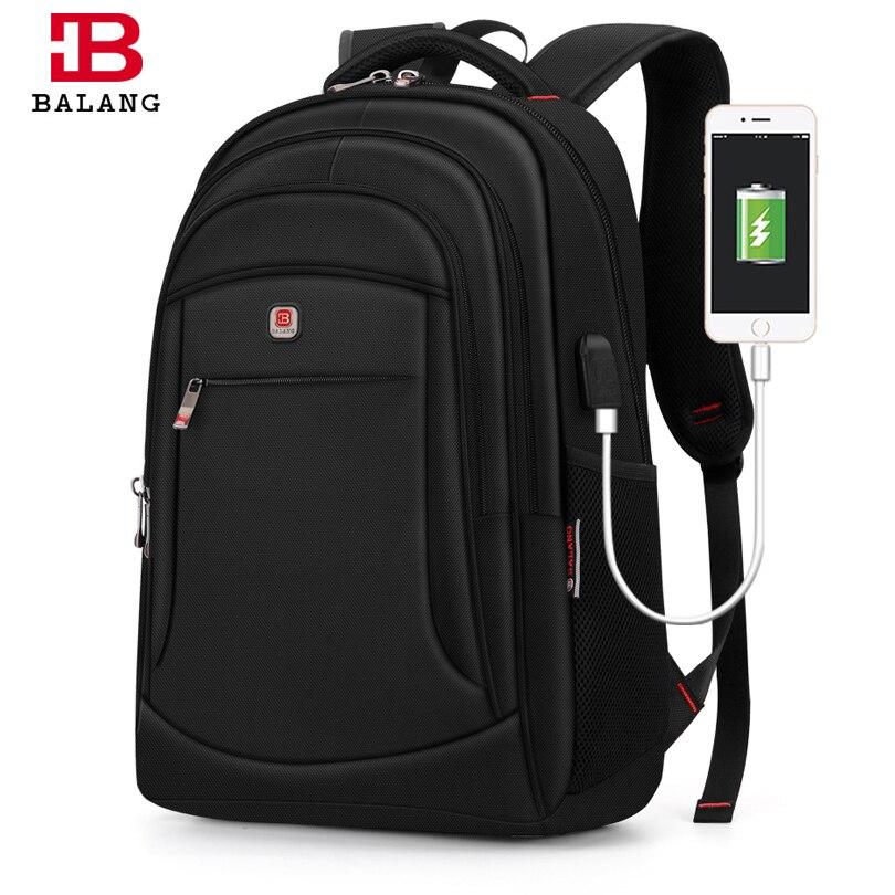 Balang 노트북 배낭 bagpack 남자 배낭 여행 남자 배낭 학교 가방 여자 plecak 15.6 인치 도난 방지 방수-에서백팩부터 수화물 & 가방 의  그룹 1