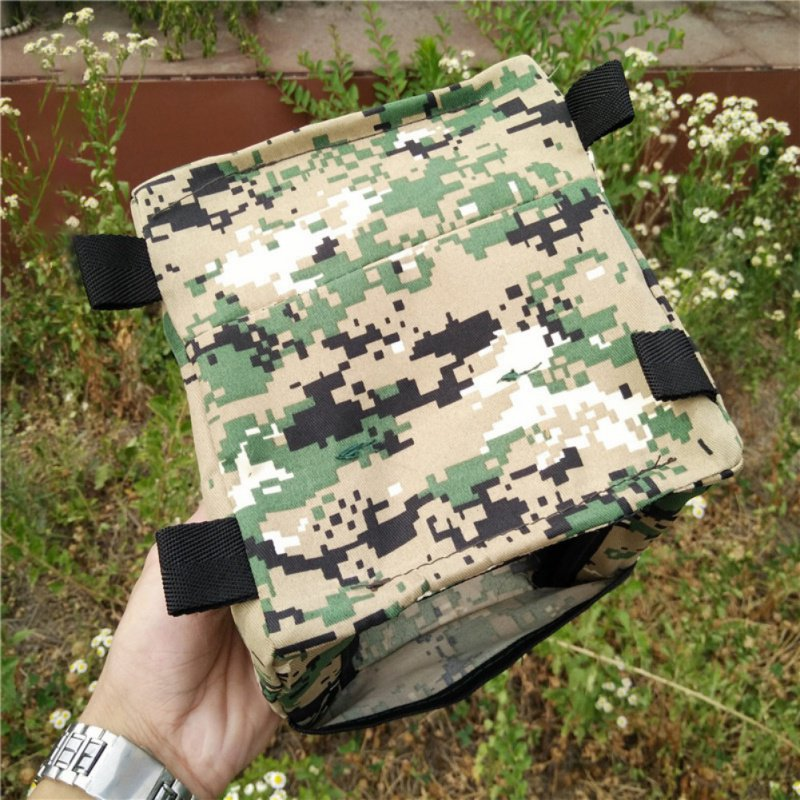 1PC Target Foldable Cloth Box Recycle Bin Target Shot Slingshot Hunting Catapult Outdoor Accessories