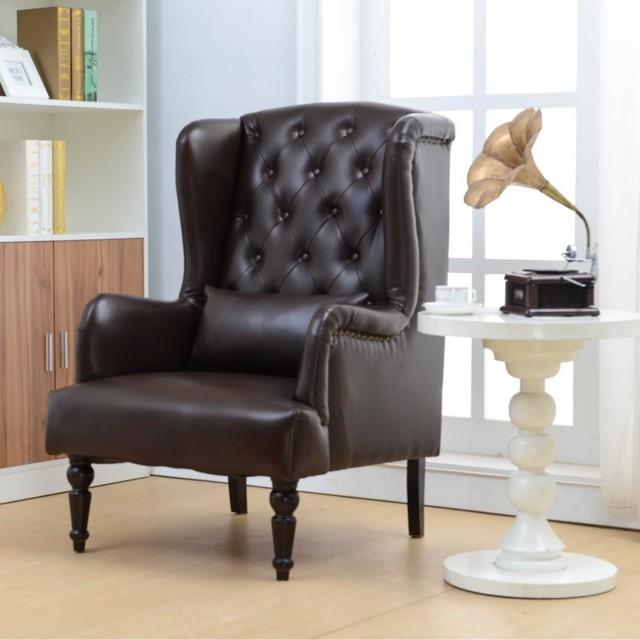 Tissu américain européenne canapé en cuir chaise pastorale
