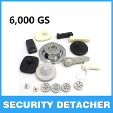 EAS 6000gs magnet tag remover Clothing alarm security detacher Supermarket hard tag anti-theft Protective eas universal remover