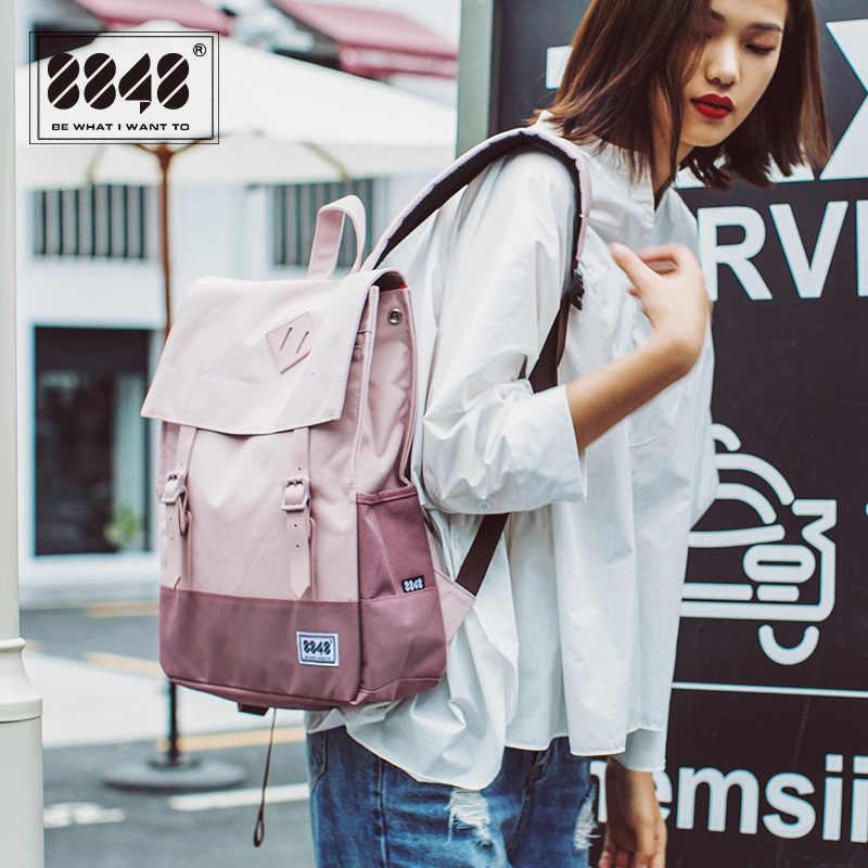 Fashion Tas Ransel Wanita Tas Sekolah untuk Remaja Gadis Kapasitas Besar Perjalanan Tas Ransel Wanita Pria Bagpack Mochila