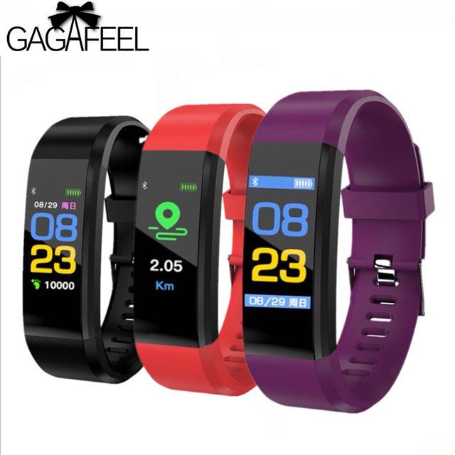 Gagafeel 115HR Smart Wristband Sports Date Calories Pedometer Sleep Monitor wome