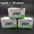 3 pack=90 pieces / lot winalite love moon anion sanitary pads anion sanitary safety eliminate bacteria menstrual pads