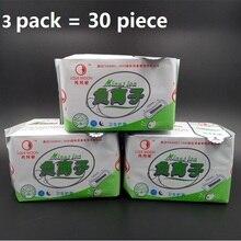 3 упак. = 90 шт./лот winalite love moon анион гигиенические прокладки анион гигиенические безопасности устранить бактерии менструального колодки