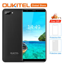 "Oukitel c11 5.5 ""hd 18:9 android 8.1 1 gb ram 8 gb rom smartphone mtk6580a quad core 5mp + 2mp/2mp 3400 mah 3g telefone móvel(China)"