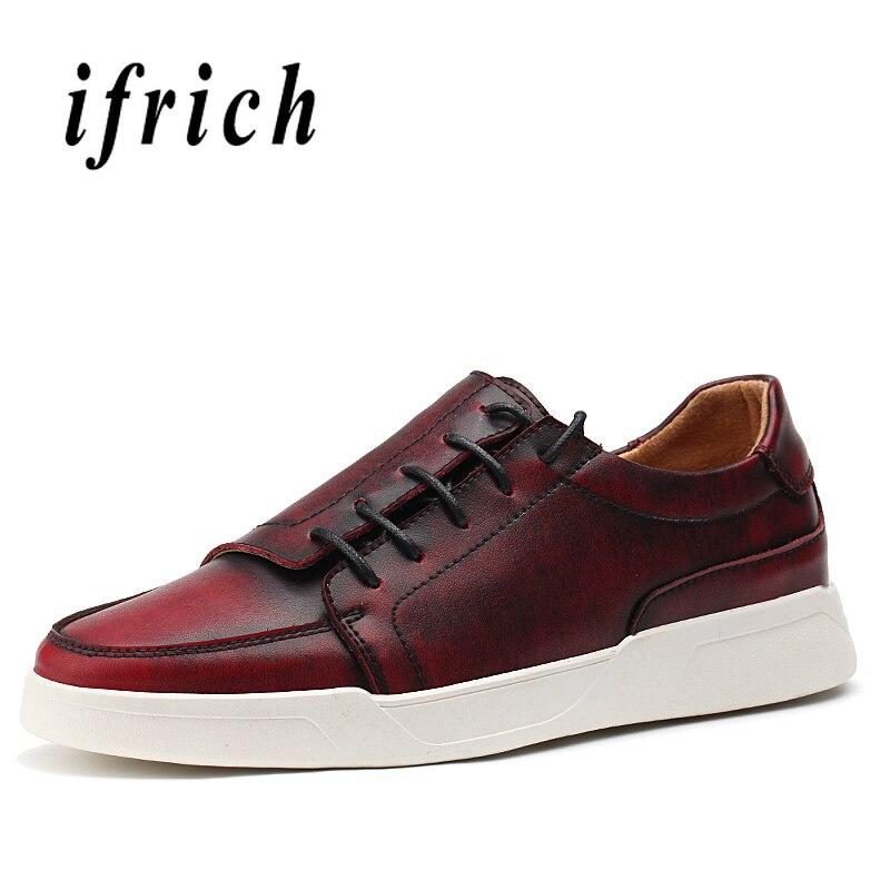 Populaire jeunes chaussures décontractées garçon vin rouge marron mode hommes baskets anti-dérapant appartements chaussures hommes confortables marche hommes chaussures