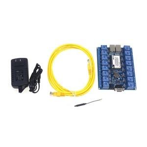 Image 2 - 무료 배송 16 채널 디지털 제어 스위치 릴레이 모듈 스마트 홈 자동화 wifi 릴레이 HLK SW16