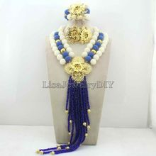 Fashionable African Beads Jewelry Sets Jewelry Set Nigerian Wedding Necklace Womens Jewellery Set Jewelry Sets HD7052