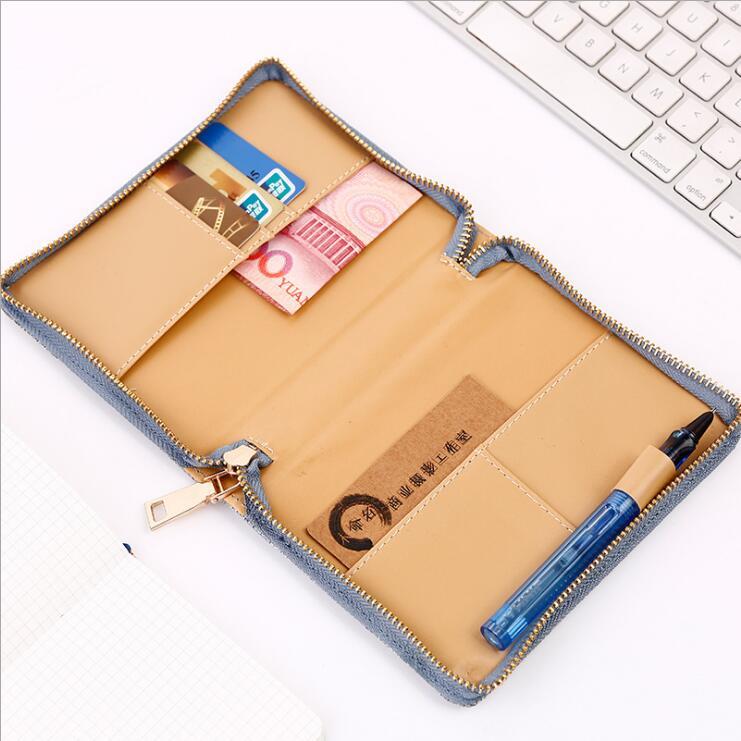 Dilosbu Zipper Bag A5 Doplněný plánovač Mesačný Týdenní 2018 - Bloky a záznamní knihy - Fotografie 4