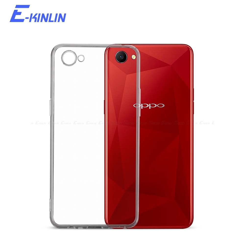 Silicone UltraThin Clear Cover For <font><b>Oppo</b></font> A1 A3 A3s AX5 A33 A39 A57 A59 A71k <font><b>A71</b></font> 2018 A73 A73s A75 A77 A79 A83 TPU Back <font><b>Case</b></font> image