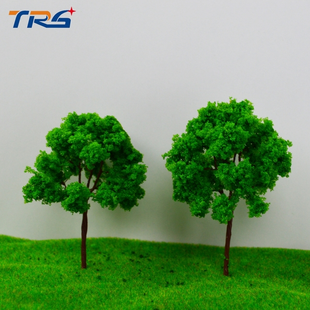 20PCS 9CM architectural model making building material outdoor,Architectural model tree,Scale Train Layout Set Model Trees