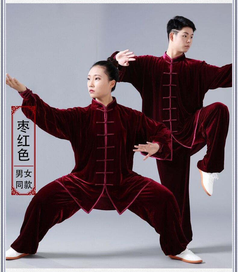 45a61ac7aecc9 HOT SALE] 2019 Tai Chi Kungfu Suit Men Women Velvet Thick Warm ...