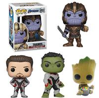 FUNKO POP Avengers 4 Movie Boy Collection Model Toys Vinyl Doll Avengers 2019 Action Figures Toys Original Box