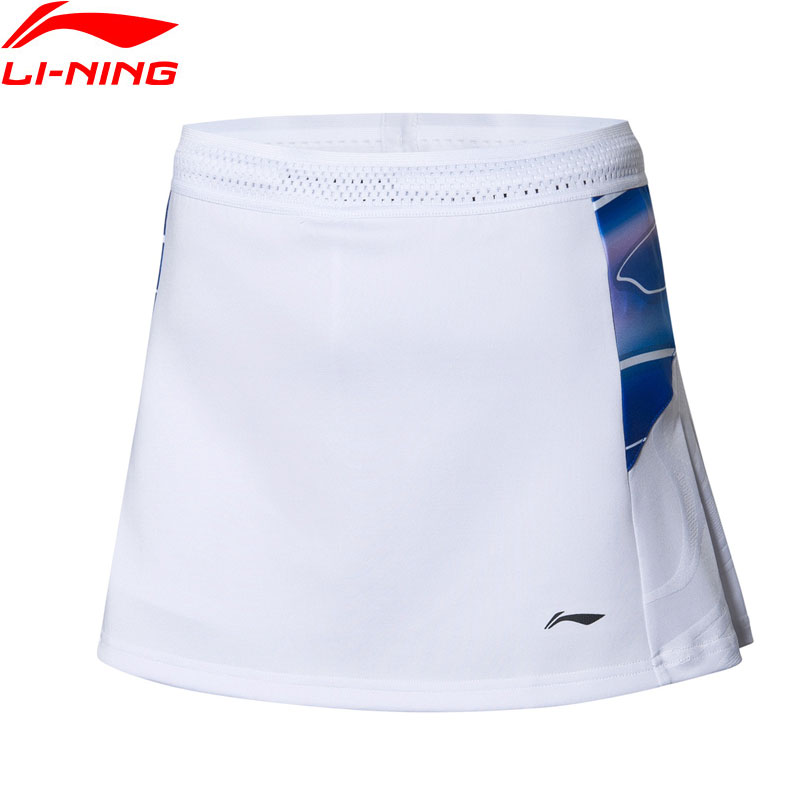 Li Ning Women Badminton Competition Skorts National Team AT DRY BASE with Drawstring LiNing Sports Skirts ASKP072 WQB1047