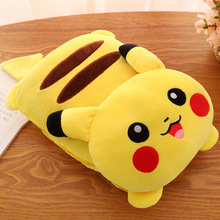 Creative Blanket 2 In 1 Cartoon Pikachu Duo A Dream Totoro Sleeping Throw Rug Anime Sofa Bedding Portable Flannel