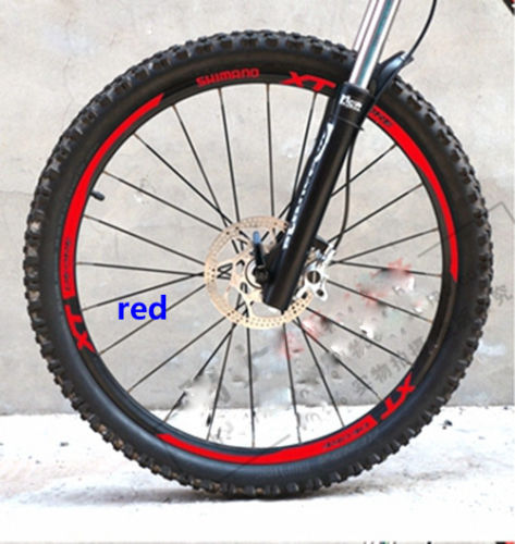 Stickers/decals of mountain bike/bycicle wheel rim in 26 inch cycling for MTB SHIMANO XT M785 free shipping Bicycle Stickers     - title=